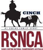 Ranch Sorting National Championships Australia (RSNCA) logo